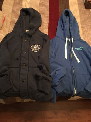 Lot of 2 Hollister Hoodies Jackets for Sale in Lake Mary, FL