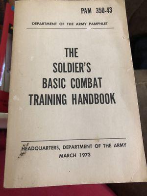 SOLDIER'S BASIC TRAINING HANDBOOK for Sale in Schertz, TX