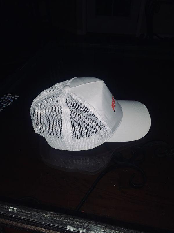Full Send White Trucker Hat