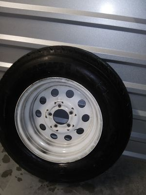 Gladiator Trailer rim and tire 205/75 r 15 for Sale in San Diego, CA