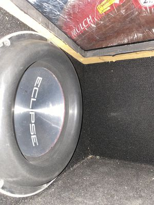 Two 12 inch eclipse subs dual voice coil for Sale in Highland, CA