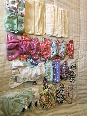 Newborn cloth diaper lot for Sale in Nampa, ID