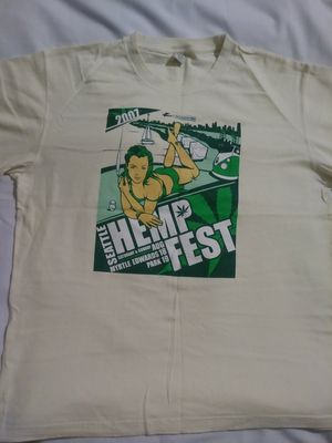 2007 Seattle Hempfest XXL(never worn) for Sale in Tacoma, WA