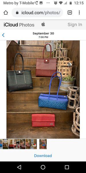 Tonnali Handwoven Plastic Handbags for Sale in Las Vegas, NV