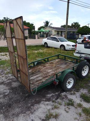Utility trailer $350 for Sale in Miami Gardens, FL