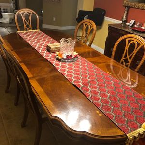Dining Table With 6 Chairs - Two With Armrest for Sale in Hayward, CA