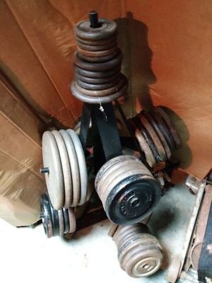 Steel weights and bars for Sale in Eastlake, OH