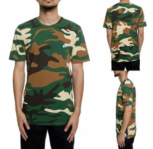 Nike Sportswear Green Brown Camo Embroidered T-Shirt Mens sz M for Sale in Las Vegas, NV