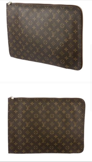 LOUIS VUITTON Monogram Poche Documents Portfolio. With dust bag. Perfect condition. for Sale in Lafayette, CA