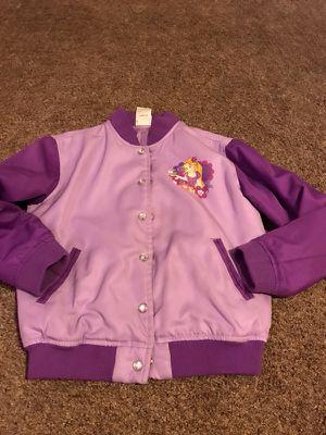 Girls Disney Rapunzel jacket size 7/8 $8 for Sale in Joint Base Lewis-McChord, WA
