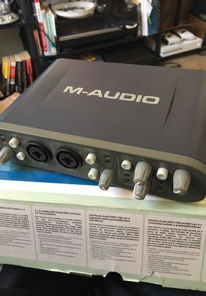 M audio fast track pro for Sale in North Las Vegas, NV