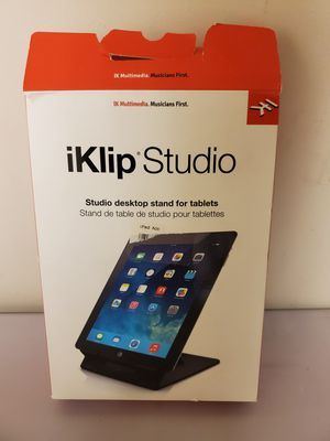 Multimedia iKlip Studio Desktop Stand for iPad & Android for Sale in W CNSHOHOCKEN, PA