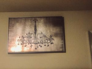 Chandelier wall art for Sale in Fort Worth, TX