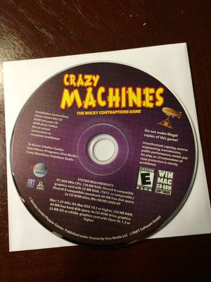 Crazy Machines computer game for Sale in Carrollton, TX