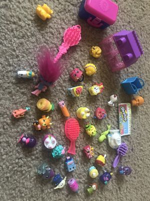 Shopkins with baskets and mini home for Sale in Westchase, FL