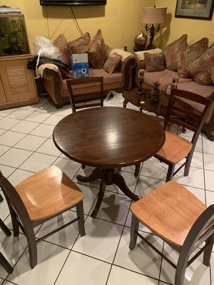 Dining table and for dining chairs dining set dining table comedor for Sale in Anaheim, CA