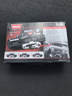Warn 10s Zeon winch for sale for Sale in Portland, OR