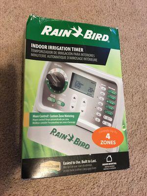 RainBird 4 zone sprinkler timer, model sst400in, New in box, never used for Sale in Cheyenne, WY