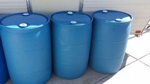 55 Gallon Food Grade Barrels-Steam Cleaned for Sale in Las Vegas, NV