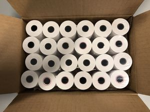 """Register roll 2.25""""x 85' 1ply thermal 48 rolls for Sale in Montclair, CA"""