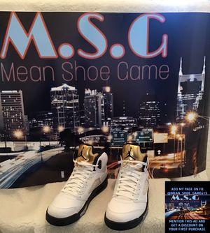"Air Jordan 5 Retro ""Olympic Gold Medal (size 10.5) for Sale in Nashville, TN"