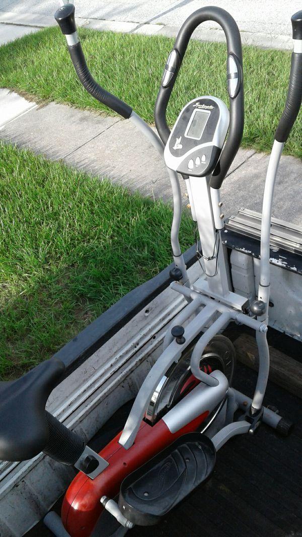 Orbitrek elliptical bike