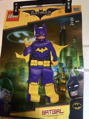 LEGO Batgirl costume size 7/8 for Sale in New Britain, CT
