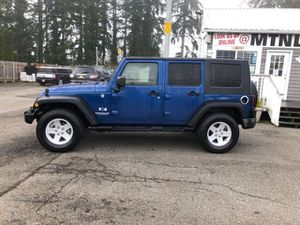 2009 Jeep Wrangler Unlimited X for Sale in Marysville, WA