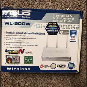 Asus WL-500-W Router for Sale in Portland, OR