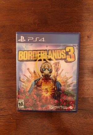 PlayStation 4 Borderlands 3 NEW for Sale in Las Vegas, NV