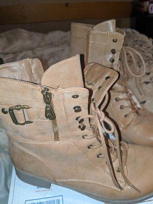 Ladies combat boots for Sale in Philadelphia, MS