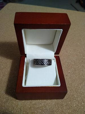 Men's stainless steel ring. Sizes 9 or 10 for Sale in Richardson, TX