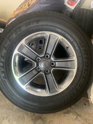 2019 Jeep Sahara Rims and Tires (Great Condition) (5 wheels) for Sale in College Park, GA