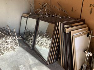 ~100 Vanity Mirrors, ~100 Stainless Steel Desk Lamps *MAKE OFFER* for Sale in Seattle, WA