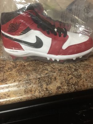 Nike Air Jordan Football Cleats 9 1/2 men's for Sale in Chattanooga, TN