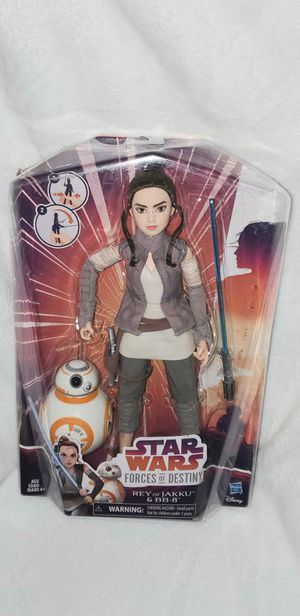 STAR WARS REY AND BB-8 DOLL SET for Sale in Las Vegas, NV