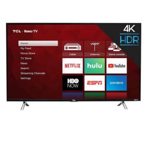 Brand new never opened 43' TLC smart roku tv for Sale in Rialto, CA