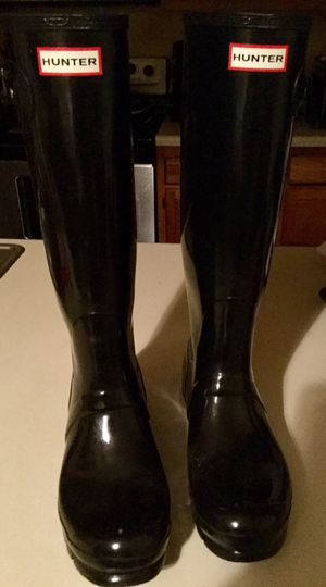 Hunter boots size 10 for Sale in Chesapeake, VA