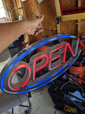 Open sign for Sale in Chicago, IL