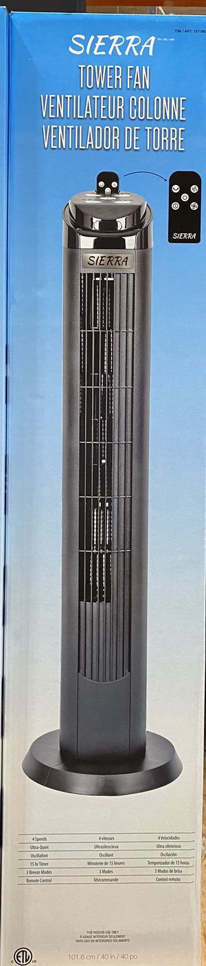 Sierra tower fan for Sale in Garden Grove, CA