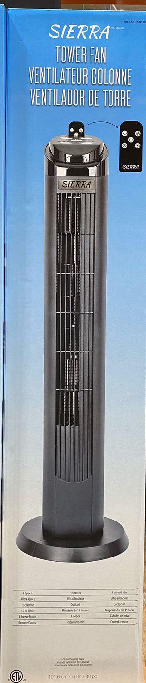Sierra tower fan for Sale in Garden Grove, CA