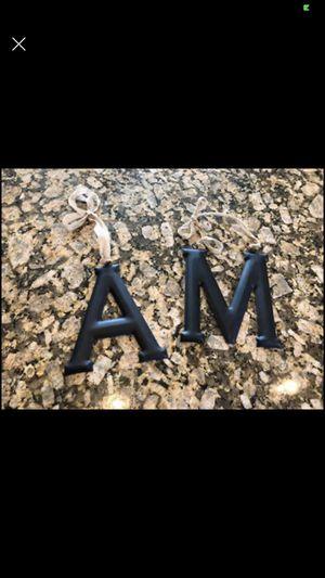 Metal letters - $1.00 each. for Sale in Oak Lawn, IL