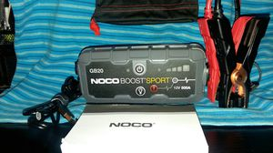 NOCO Portable jump starter and much more. for Sale in Tampa, FL