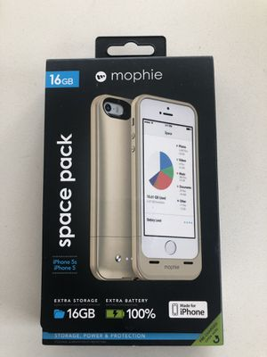 Brand new Mophie Spacepack 16gb IPhone 5s/5 for Sale in Atlanta, GA