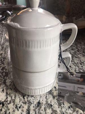 💐🌞$10 FIRM NEW COFFEE POT SET for Sale in Rialto, CA