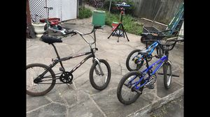 """BMX BIKE, (2 left) 20"""" wheels, all are good brands for Sale in Annandale, VA"""