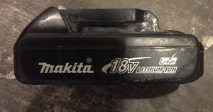 Makita 18 Volt Battery (No Charger) for Sale in Pittsburgh, PA