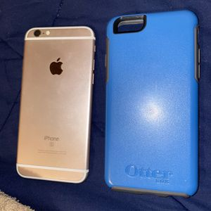 iPhone 6s Rose Gold (unlocked) With Otter Box for Sale in Aragon, GA