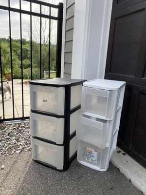 Sterilite plastic storage containers for Sale in Hudson, MA