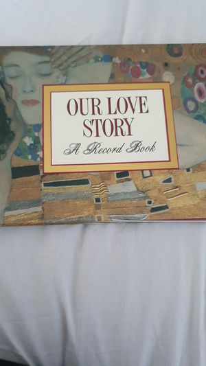 $3 Our love story a record book for Sale in Stamford, CT